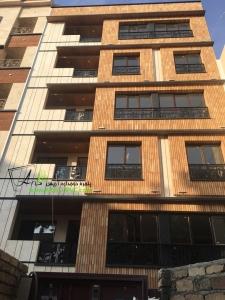 پنجره یکرو لمینیت طرح چوب